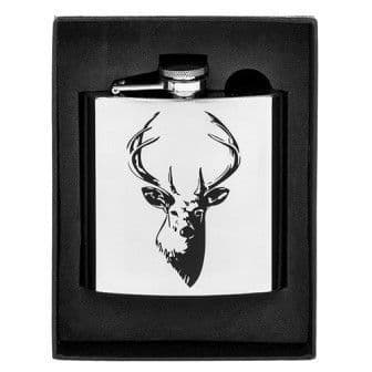Stag Hip Flask (6oz)
